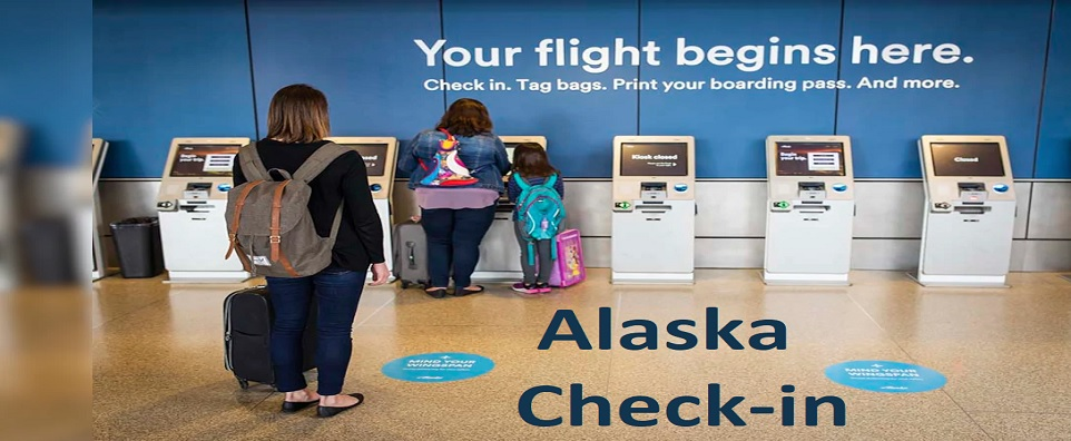 Alaska Airlines Check-In Process