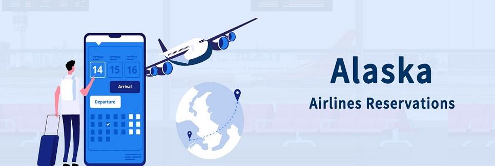 Alaska Airlines Reservations via Mobile App