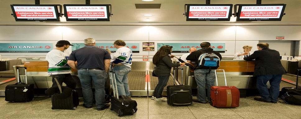 Air Canada check in process