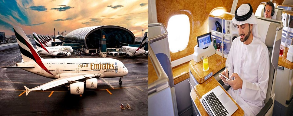 Emirates Reservations through the official website