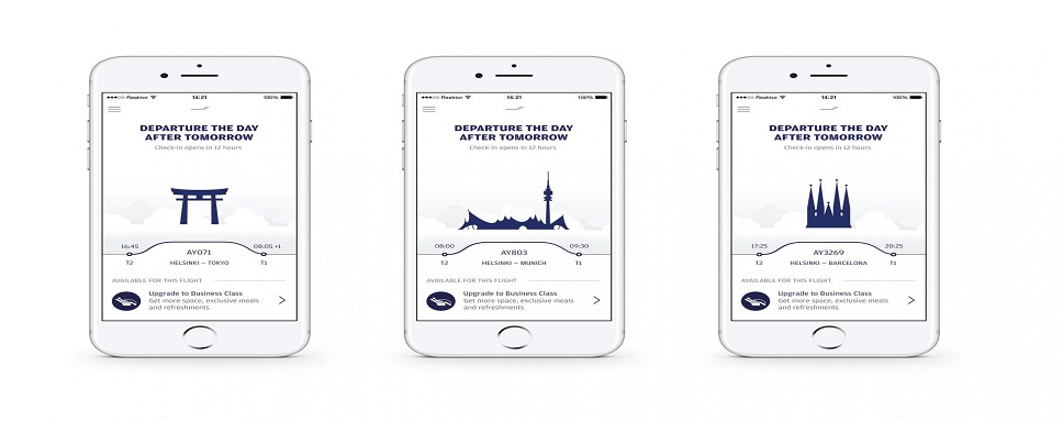 Finnair Reservations Via Finnair App