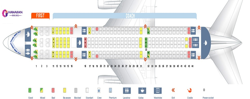 Seat Reservation on Hawaiian Airlines