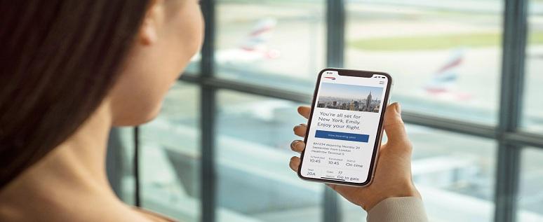 British Airways Flight Change on app